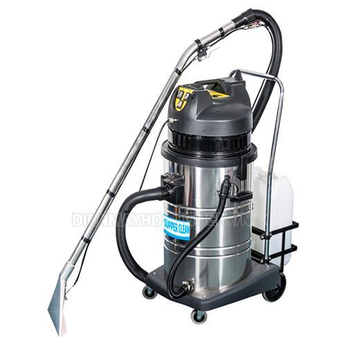 Supper Clean SC 602 tích hợp chức năng hút bụi, hút nước, giặt thảm
