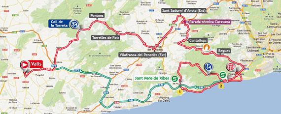 La Vuelta 2013. Etapa 13. Valls - Castelldefels. @ Unipublic