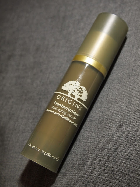 origins planscription anti-aging serum starting over Age-erasing Moisturizer demo 試用 抗皺 保濕 光澤 收毛孔