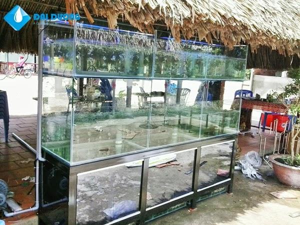 Dàn chứa hải sản trọn bộ 1
