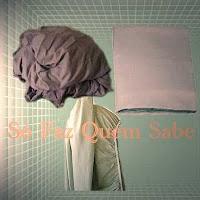 Aprendendo a dobrar lençol com elático.
