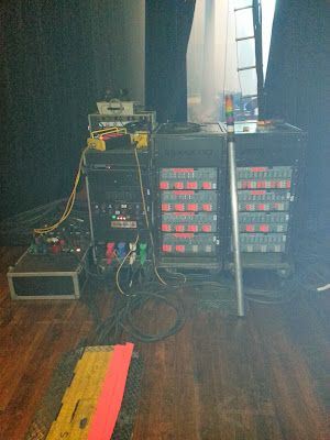 Power and Data Dirstribution System for the Avett Brothers 2013.