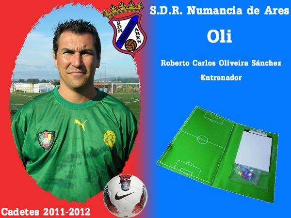 ADR Numancia de Ares. Cadetes 2011-2012. OLI.