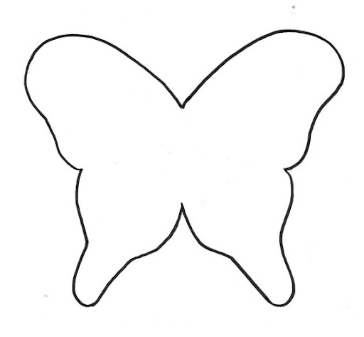Molde de las alas de las mariposa  Imagui