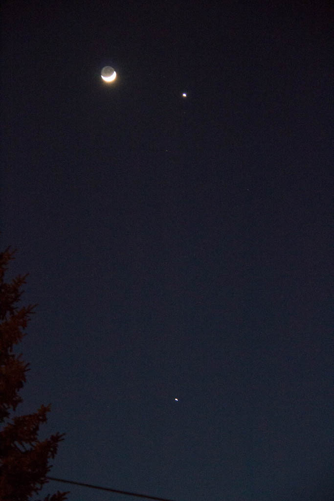 """Moon and 2 Planets"""