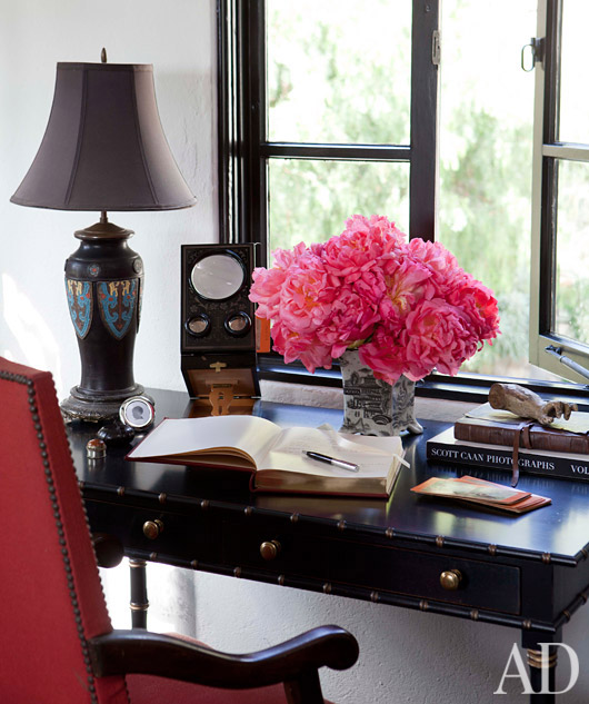 Chic Office Decor Magnificent Of Chic Elegant Home Office Photos