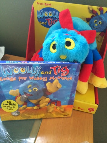Woolly and Tig Songs for Wobbly Moments CD