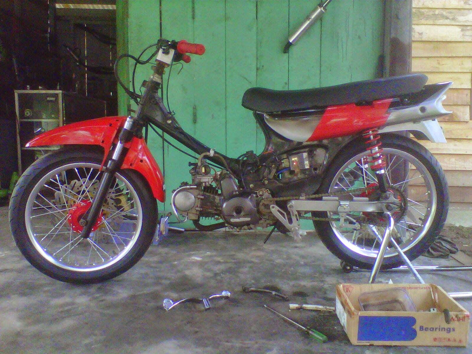 Honda Astrea Grand Modifikasi Street Cub