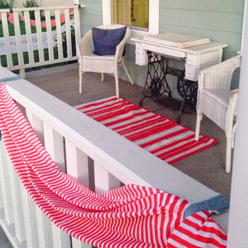 Front porch, 4th of July