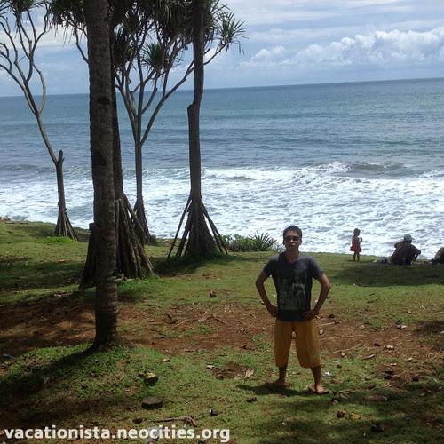Luke pose at Batu Hiu