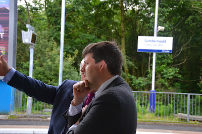 14-07-2014 - By Scott Campbell (+44) 0774 296 870 - Official opening of Cumbernauld railway station, by Jamie Hepburn MSP; Picture 2.
