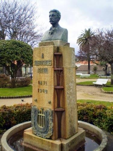 Busto do Poeta Fausto Guedes Teixeira