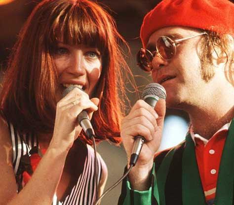 Elton John y Kiki Dee