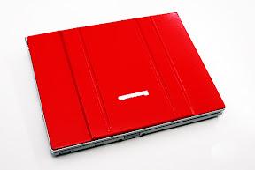 赤いLet's note CF-T5