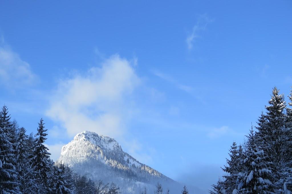Ein erster Blick Richtung Brünnstein