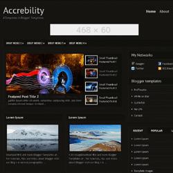 ギャラリー形式のBlogger テンプレートに LinkWithin を導入する