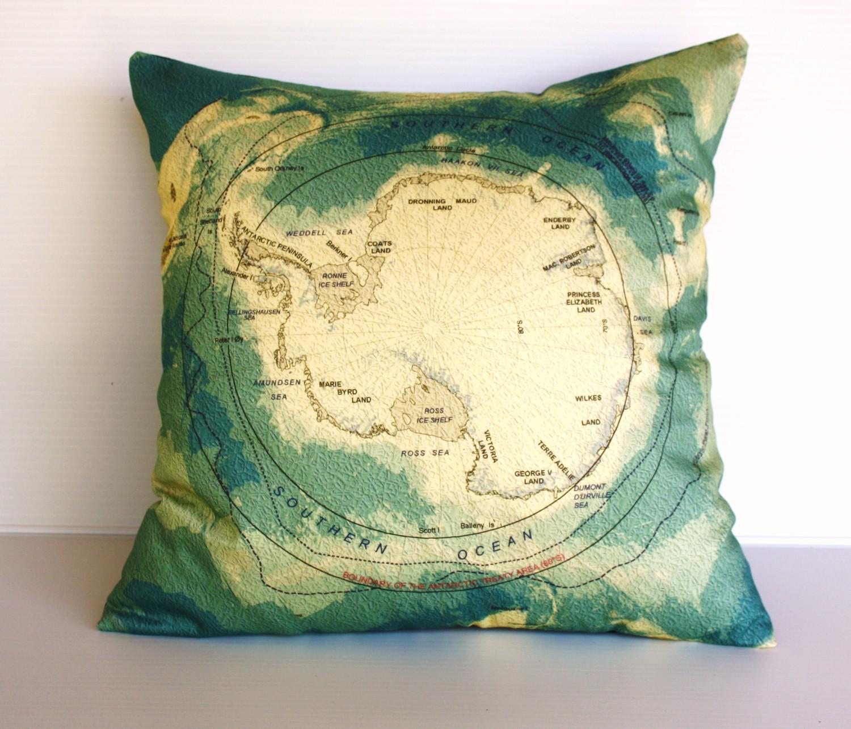 Vintage Pillows: Moop :: Handmade: Vintage Map Pillows