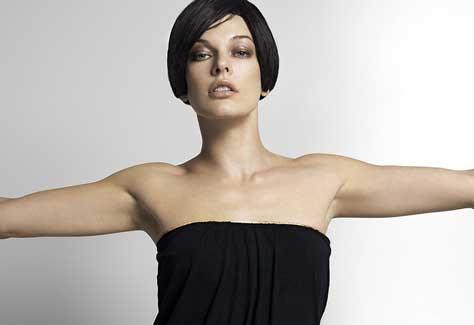 Milla Jovovich, guapa