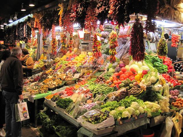 バルセロナ サンジョセップ市場