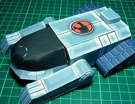 Thundercats Tank on Thundercats Papercraft   Thundertank   Paperkraft Net   Free