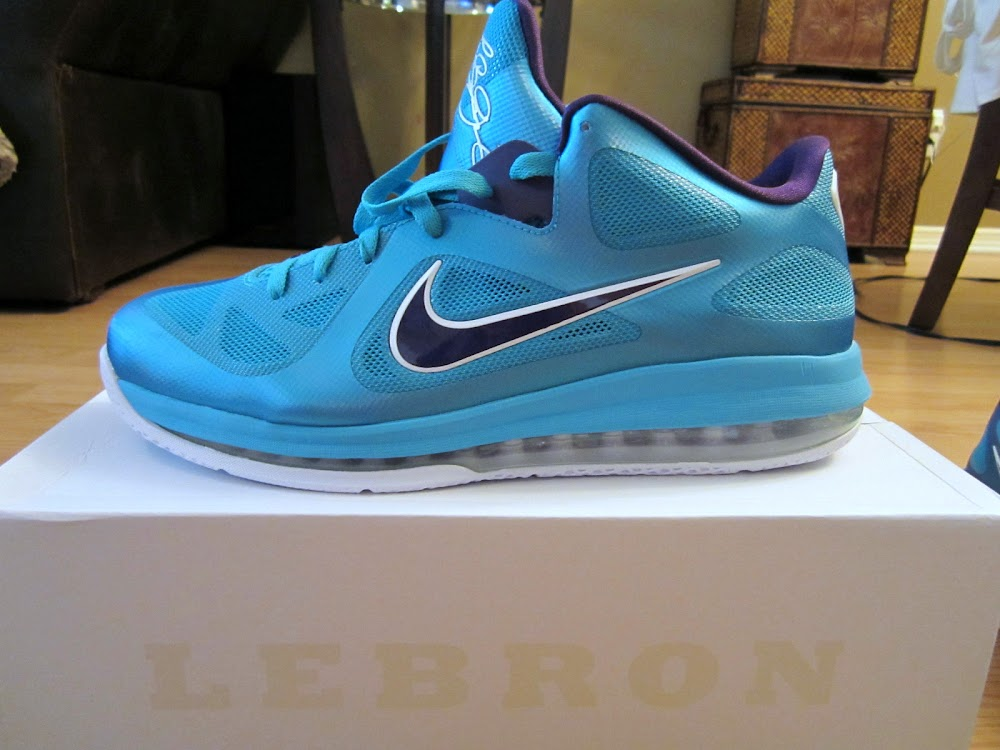 save off f5cb5 7a900 Nike LeBron 9 Low 8220Summit Lake Hornets8221 Available at Eastbay ...