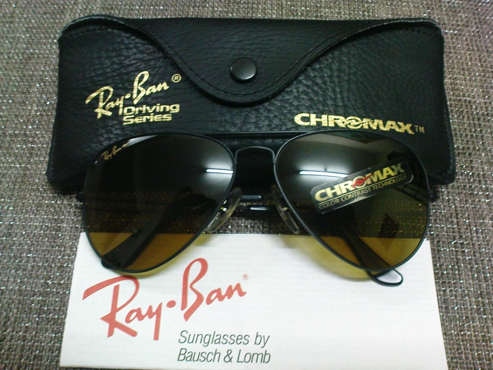 ray ban aviator driving series chromax