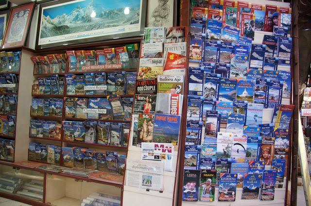 達人帶路-環遊世界-尼泊爾-地圖
