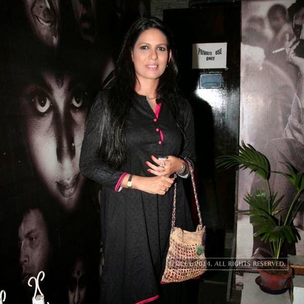 Ekavali Khanna during the premiere of Ai Raat Tomar Amar, held in Kolkata.