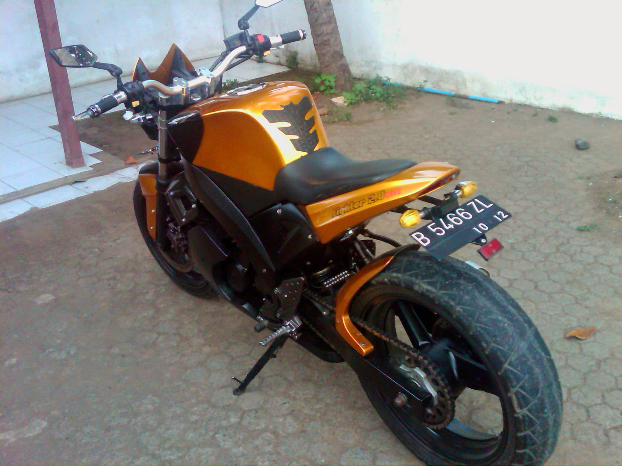 Modifikasi Motor Tiger Fighter 28 Images Modifikasi Motor