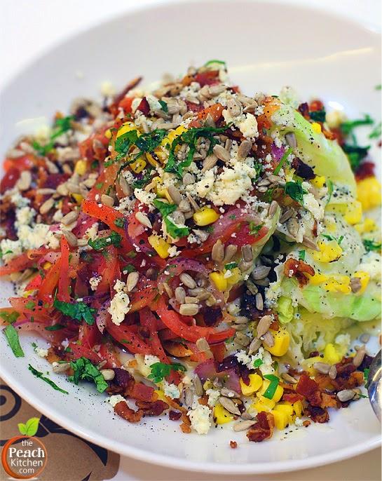 Maple : Texas Wedge Salad | www.thepeachkitchen.com