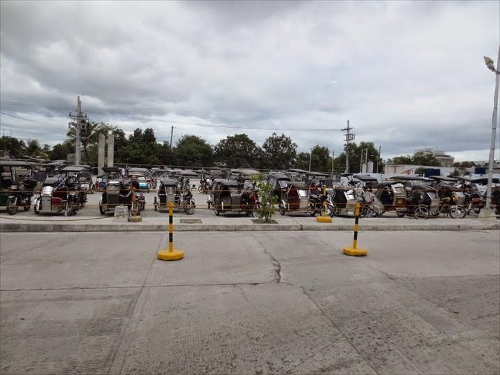 SMクラークシティの駐輪場(トライシクル置き場)
