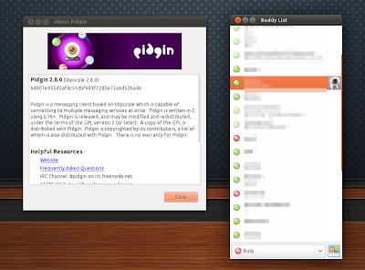Pidgin 2.8.0 Ubuntu