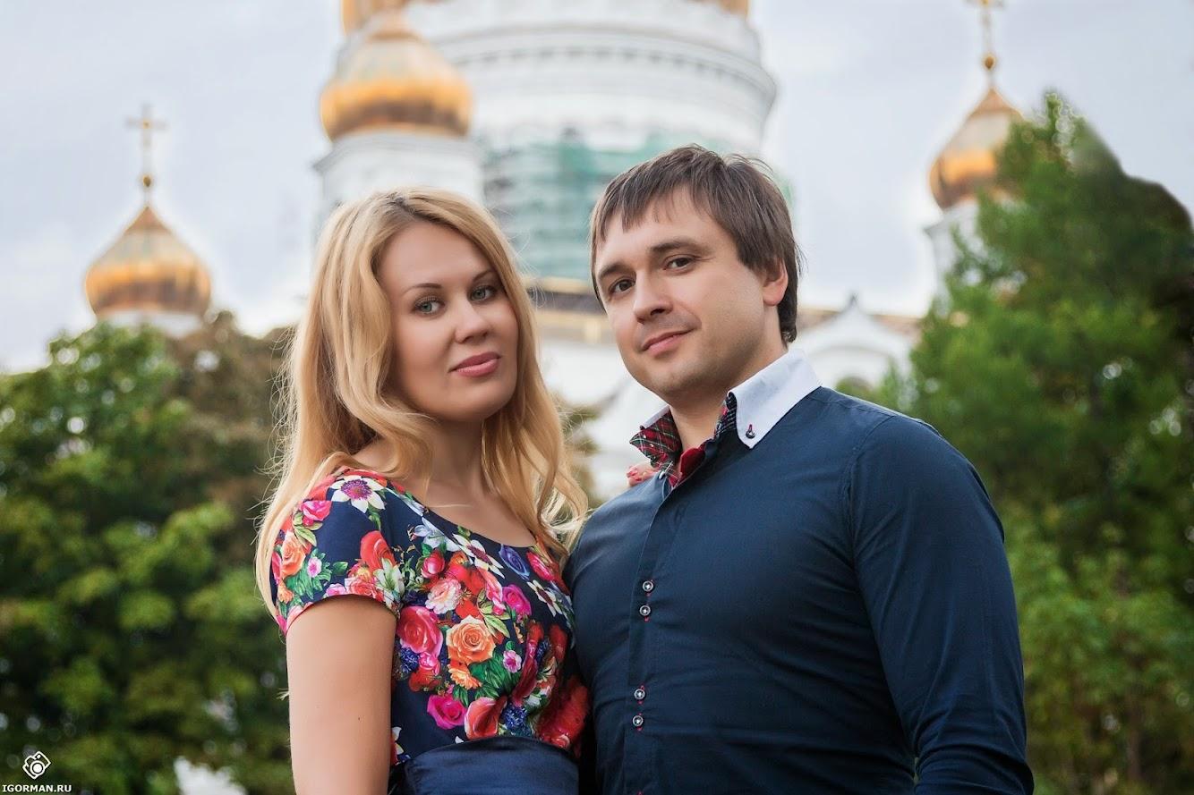 Фотосессии на природе в Москва - Храм Христа Спасителя