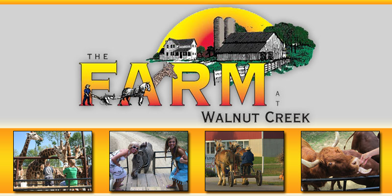 Walnut Creek Farm Ohio The Farm At Walnut Creek Logo