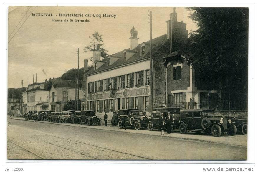 Souvenez vous 44 l 39 hostellerie du coq hardy a bougival for Restaurant bougival
