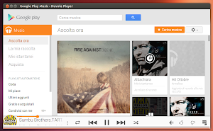 Nuvola Player 2.2 in Ubuntu Linux