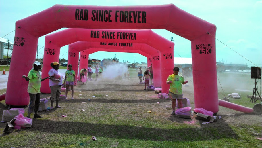 IMAG1447 Another Colorful Time! My Color Me Rad Recap