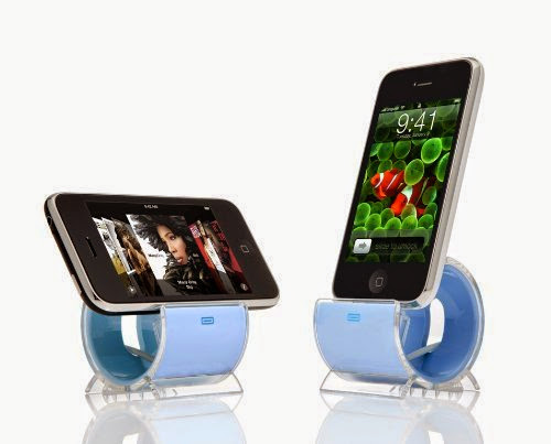 Sinjimoru Sync and Charge Dock Stand for iPhone 4, 3G, 3GS, and iPod (Color Option: BLUE)
