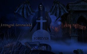 Avenged Sevenfold Nightmare Remix Wallpaper