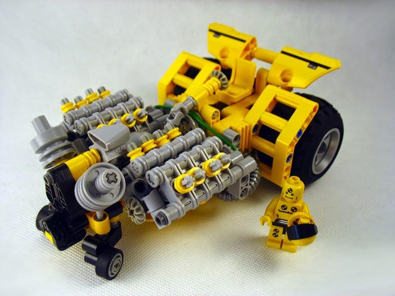 MOC] Mini Power Puller - LEGO Technic, Mindstorms & Model Team ...