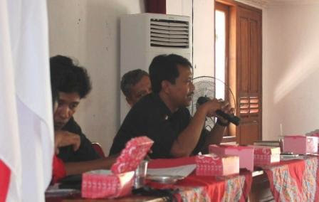 ketua DPC PDI Perjuangan Kabupaten Ngawi Jawa Timur