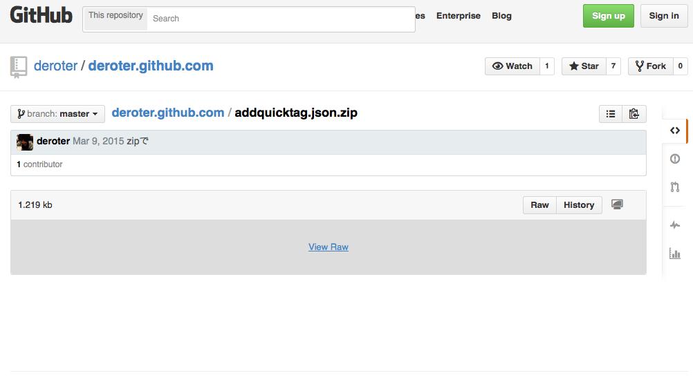 jsonファイルをダウンロード