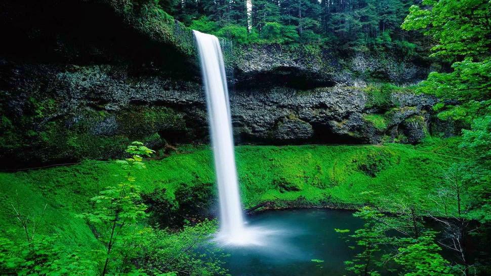 Парк Силвер Фоллс, Орегон, США, Красивые водопады планеты