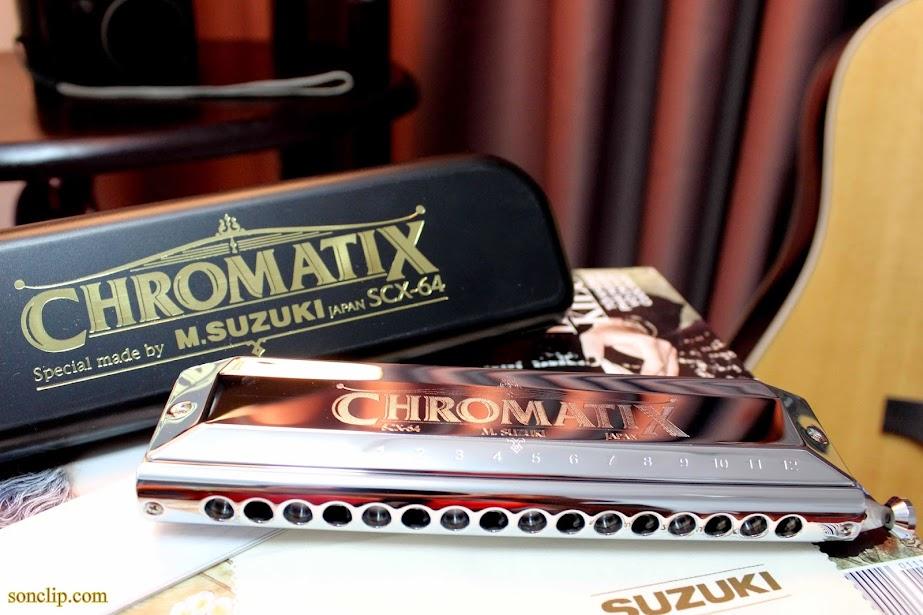 Kèn Harmonica - Suzuki SCX 64