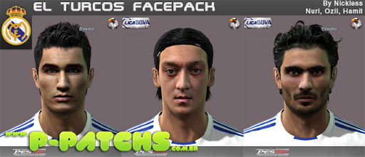 Real Madri Facepack para PES 2011 PES 2011 download P-Patchs