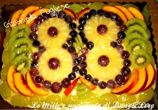 crostata morbida della nonna alla frutta
