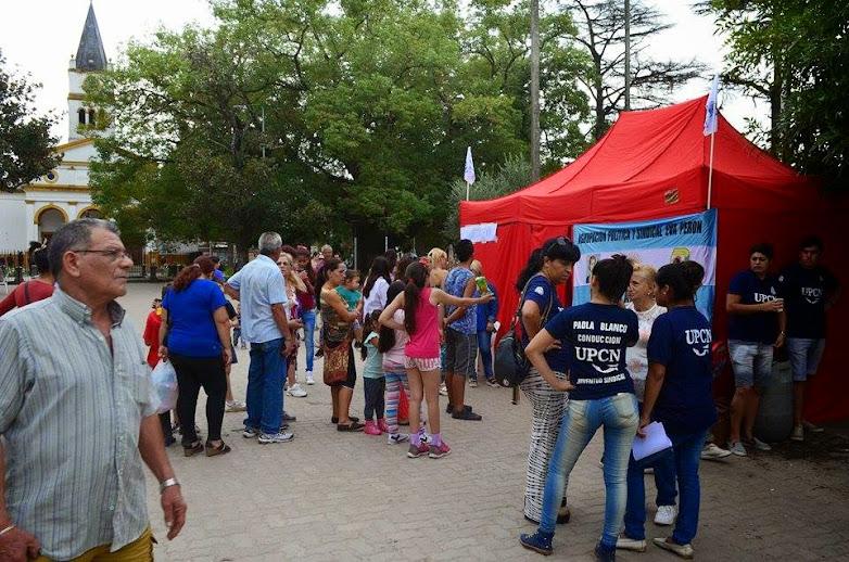 Exitosa jornada de Salud en la Plaza Martín Rodríguez
