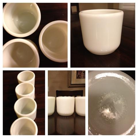 Image Result For Handleless Navy Coffee Mugs