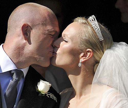 Matrimonio Zara Phillips : Boda de zara phillips y mike tindall