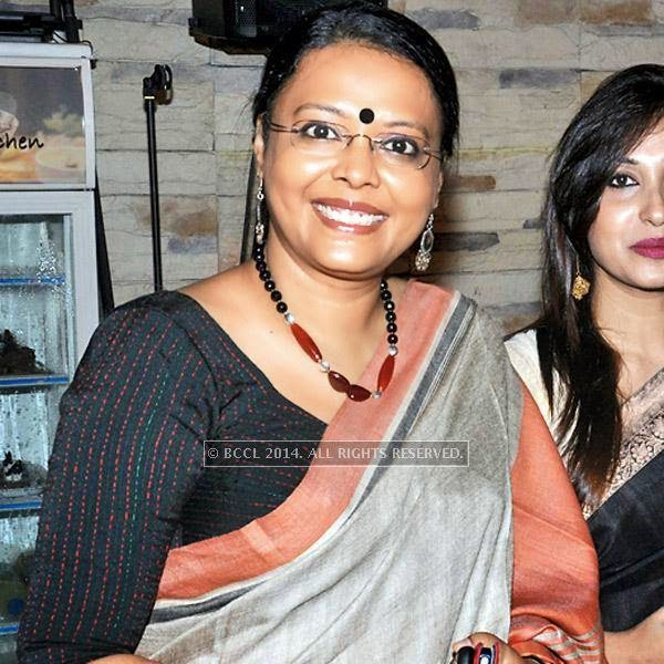 Lopamudra Mitra during an evening dedicated to Kazi Nazrul Islam, held in Kolkata.